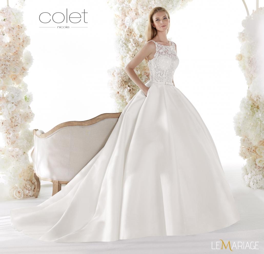 modella con abito da sposa