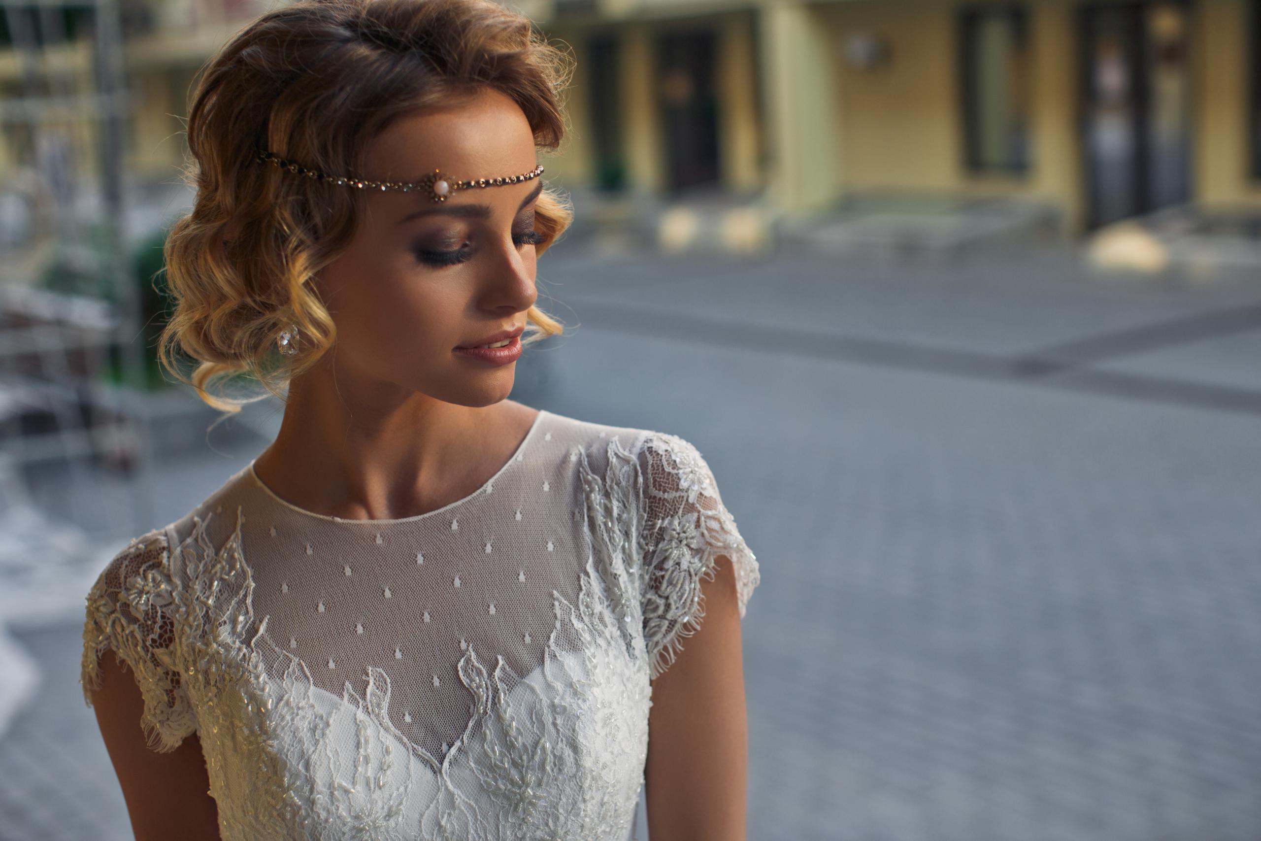 Idee acconciatura sposa: capelli corti